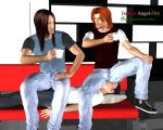S05007 Coffee and Conversation by Demon-Angel-Fire