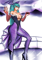 Morrigan color by Daro1234frog