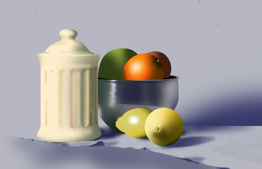 Still life - 90 minutes by KitXune