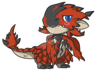 Rathalos by DatBritishMexican