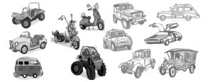 Vehicle Thumbnails by dodgyrom