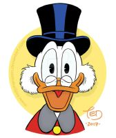 Smiling Scrooge by TedJohansson
