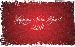 Happy New Year 2011 by pinkquilldesign