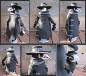 Mr. Lonely Plague Doctor Doll by bezzalair