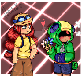 Flowers for a flower - Brawl Stars by The-Lil-Wicth