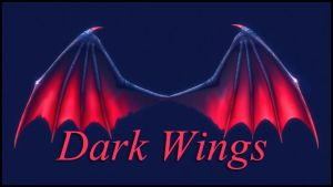 Dark Wing PNG by moonchild-ljilja