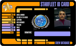 Starfleet ID Card by akeel1701