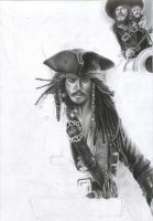 Pirates Of The Caribbean WIP 4 by D17rulez