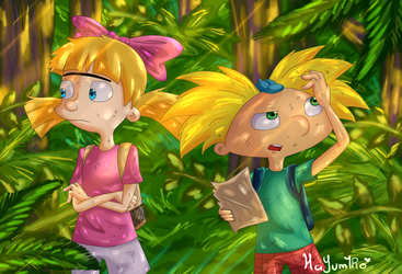 Hey arnold! TJM by HaYum1Ro