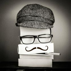 ..: Mr Bookman :.. by Mademoiselle-P