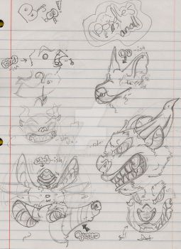 Booga Boo Doodles by Troppa-D