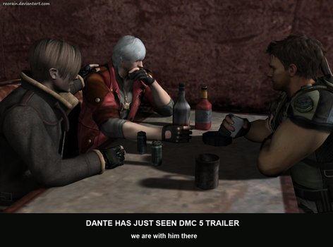 Dante saw DmC trailer by reorain