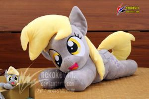 Derpy plush open mouth by nekokevin