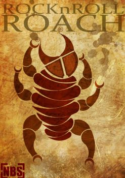 Rock n roll cockroach by Nikhil-Bose-Sangle