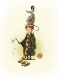 Ron Weasley by mikemaihack