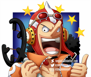 1st of April - Usopp by SergiART