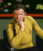Captain James T. Kirk by SolidJB