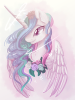 The sun princess (speedpaint) by nutty-stardragon