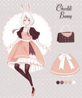 [Closed] Chocolate Usagimimi adopt - Auction by Kirwet99