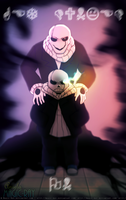 Undertale: Gaster Sans by Magic-Ray
