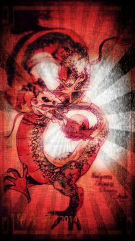 Nure Chinese Dragon Style by Doggamaran