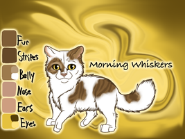 Morning Whisker of Tall Shadow's Camp - TBS by Jayie-The-Hufflepuff