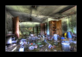 Flooded Office by 2510620