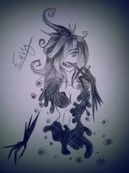 10 min scetch~ Envy ~ by Catsertra