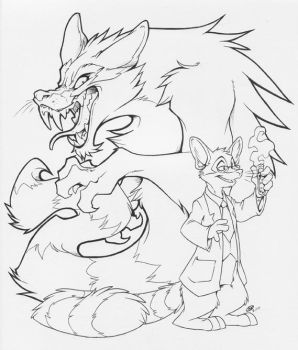 Dr. Jamey and Mr. Hyde by zillabean