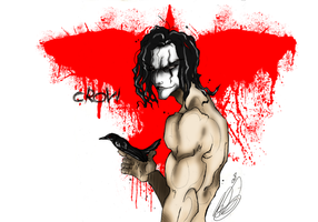 The Crow by Mecoiy