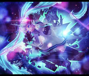 .: drowning in space :. by Miky-Rei