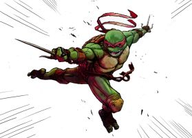 Raph coloured 2.0 by greenlantern