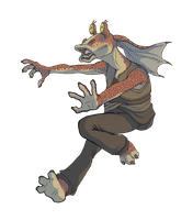 Jar Jar Binks by KelpGull
