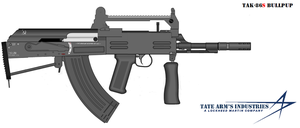 Tate Arm's TAK-86S Bullpup by GeneralTate