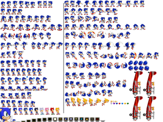 CvTWSonic by SeanAltly and HyperSonic Sheet by PixelMuigio44