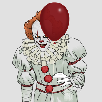 Pennywise The Dancing Clown by pencilHead7