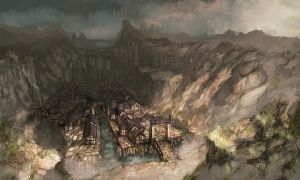 The Town of Ravinshire by shizen1102