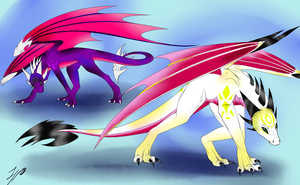 Cnder and Angel Light by TheLegendaryPixie