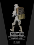 Rogue One - Stormtrooper Backpack Papercraft by RocketmanTan
