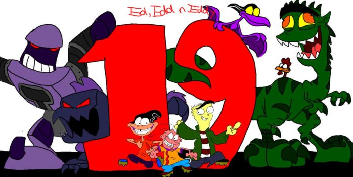 19 Years of Ed Boys!! by SammyD-Productions