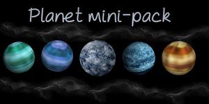 Planets pack by Aur0th