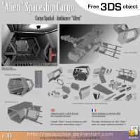 Free 3DS : 040 - Alien Cargo by lasaucisse