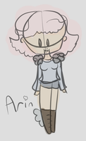 Arin (sketch doodle) by alliemews