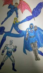 Fantastic Four from earth 7712 by dhbraley