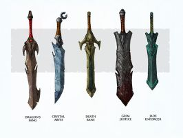 swords by marcnail