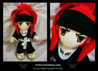 Abarai Renji (Time Skip) by renealexa-plushie