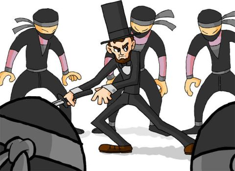 LINCOLN vs THE NINJAS by Hail-NekoYasha