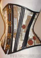 Montage Corset with Swing Hooks by Trinitynavar