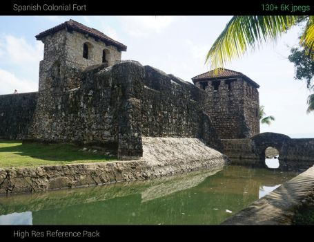 Colonial Spanish Fortress Reference Pack by jonathanguzi