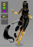 (close) Auction Adopt: Valix: Superbia - The Pride by CherrysDesigns